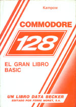 Commodore 128 El gran libro BASIC 1