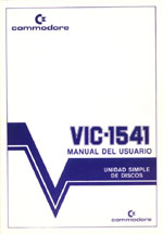 Commodore VIC-1541 Manual del Usuario 1